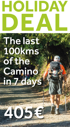 The last 100kms of the Camino ESSENTIAL